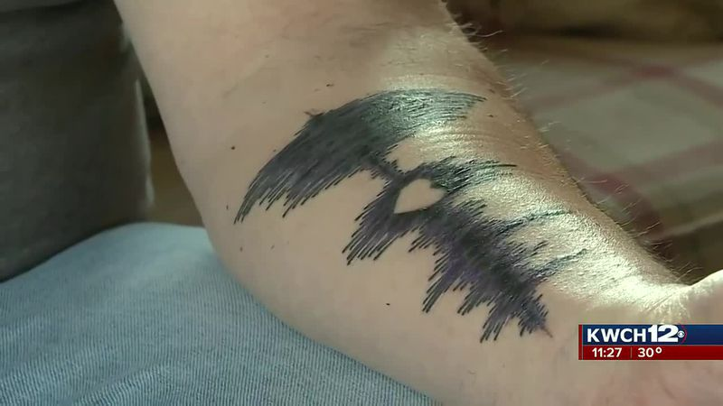 Radio host gets tattoo in honor of his wife after dying from COVID-19
