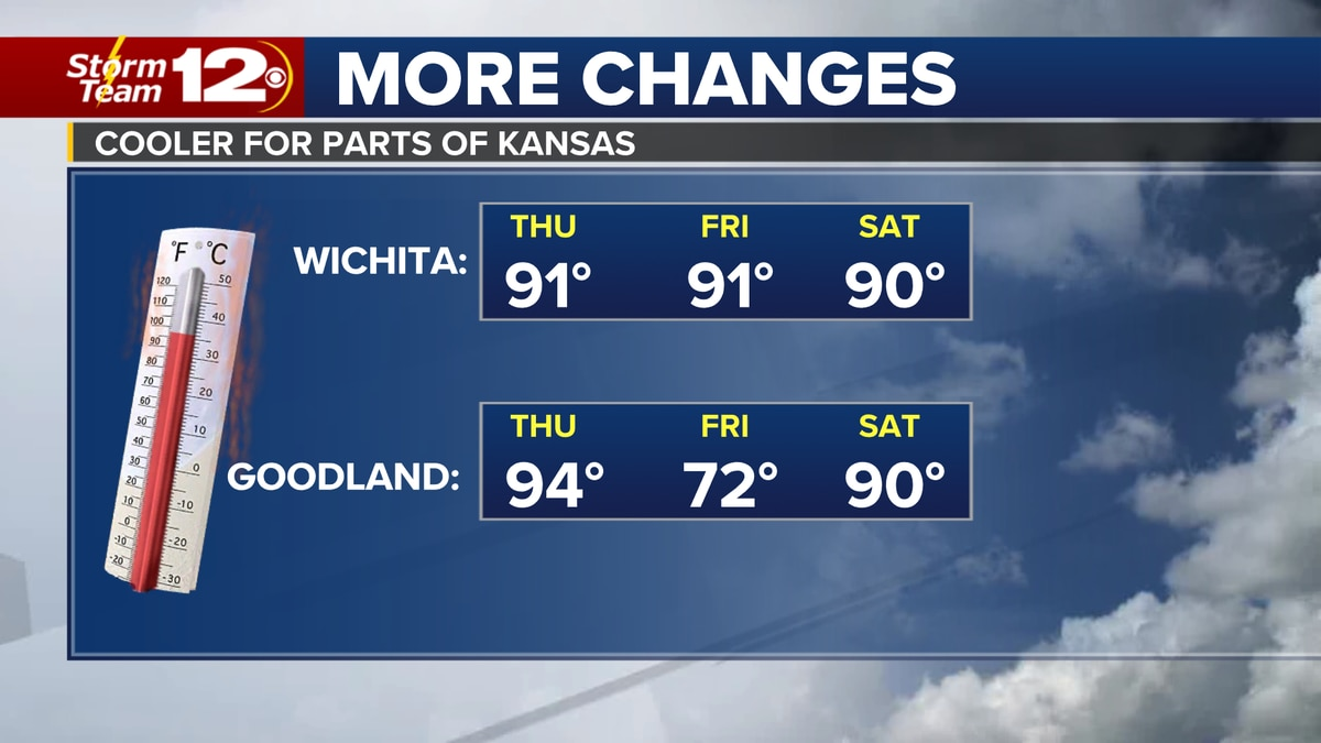 Meteorologist Jake Dunne says our break from the heat on Wednesday was nice, but it is also over.