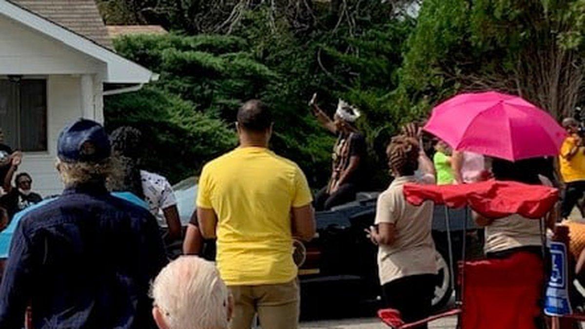 Nicodemus Kansas celebrates its 143 homecoming parade