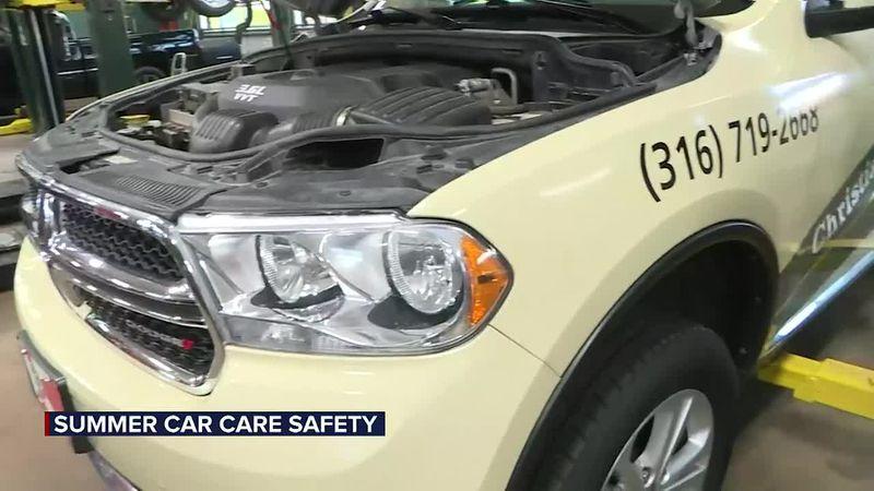 Summer car care safety