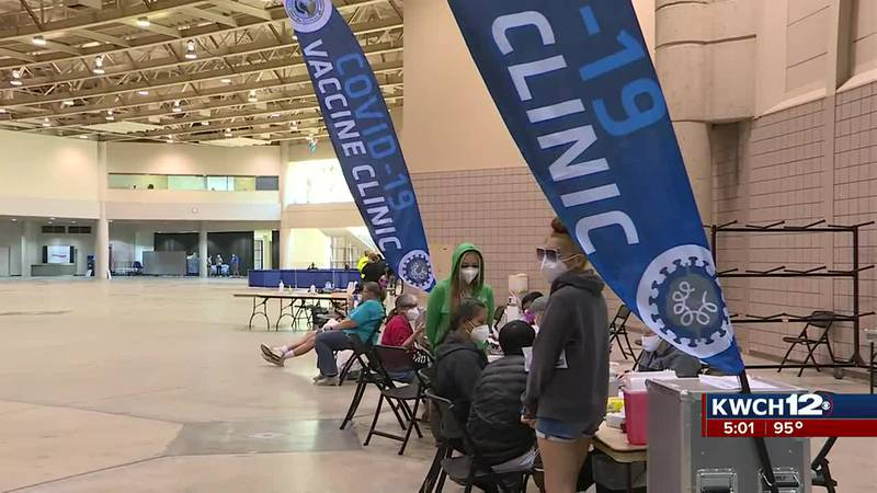 Sedgwick County sets up vaccine clinic at free dental clinic