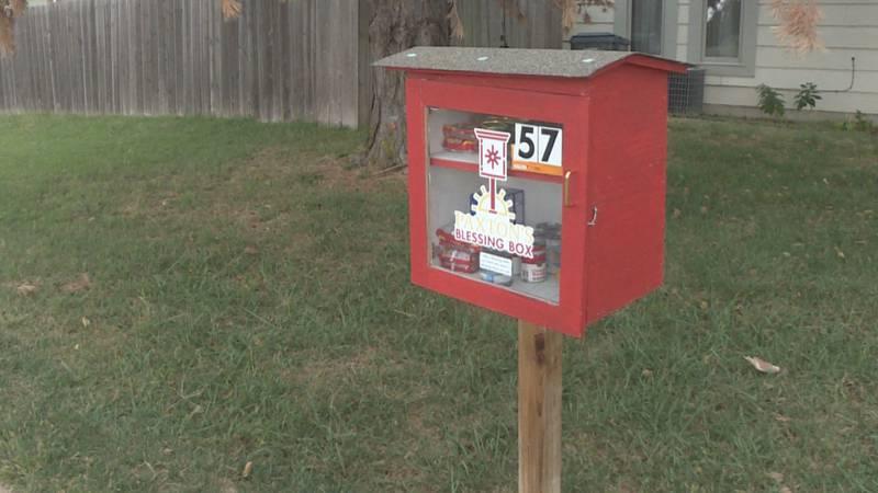 Blessing boxes increase through Wichita area and state of Kansas.