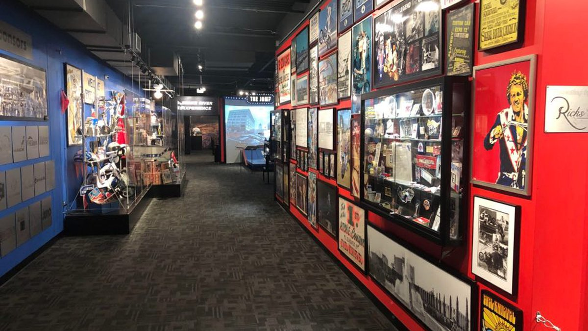 If the Evel Knievel Museum moves from Topeka to Las Vegas, the owner of the museum dedicated to...