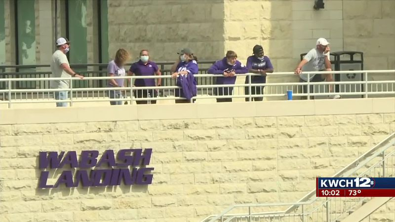 K-State football back with limited capacity stadium