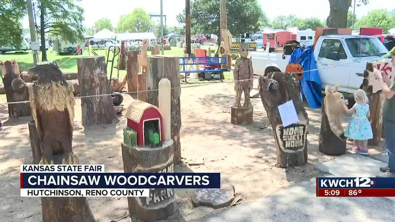 Chainsaw woodcarvings