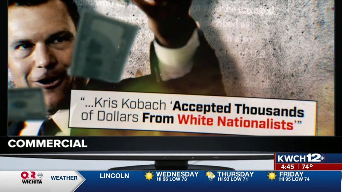 FactFinder 12 checks out claims that Kris Kobach has ties to white nationalists.