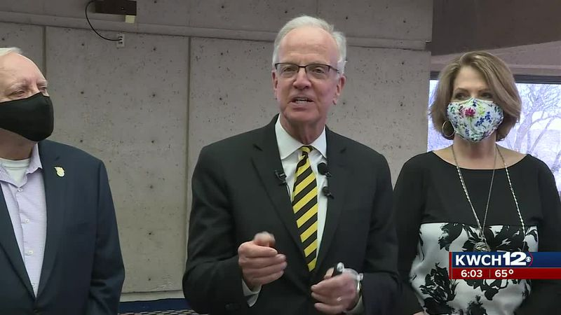 Jerry Moran in Wichita