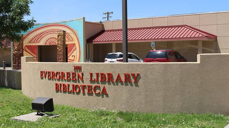 Evergreen Library is located in the historic North End and Evergreen neighborhood.