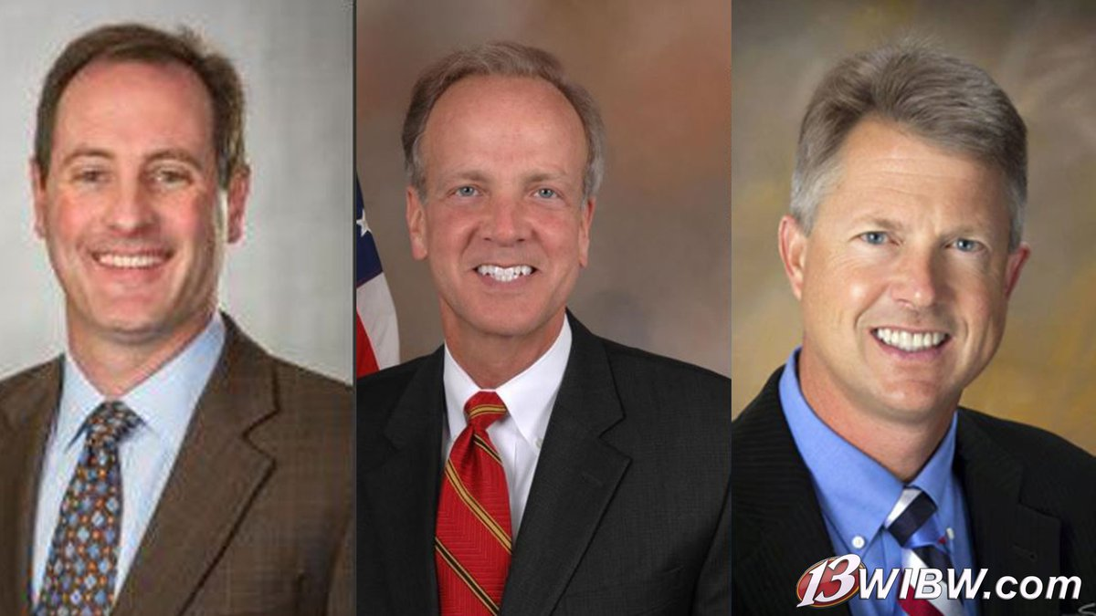 Rep. Tracey Mann (left) and Sens. Jerry Moran (center) and Roger Marshall (right) have...