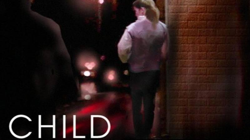 Child prostitution graphic
