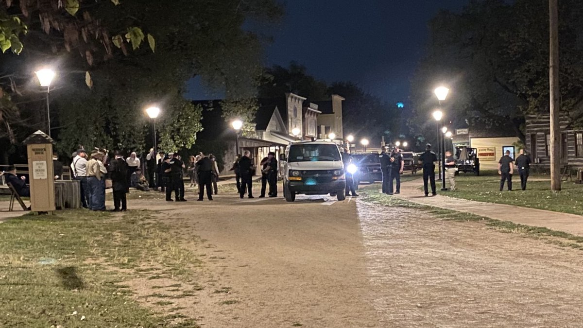 One person non-life-threatening injuries in an accidental shooting during a demonstration in...