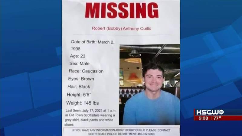 Missing Wichita Man, last seen in Scottsdale Arizona