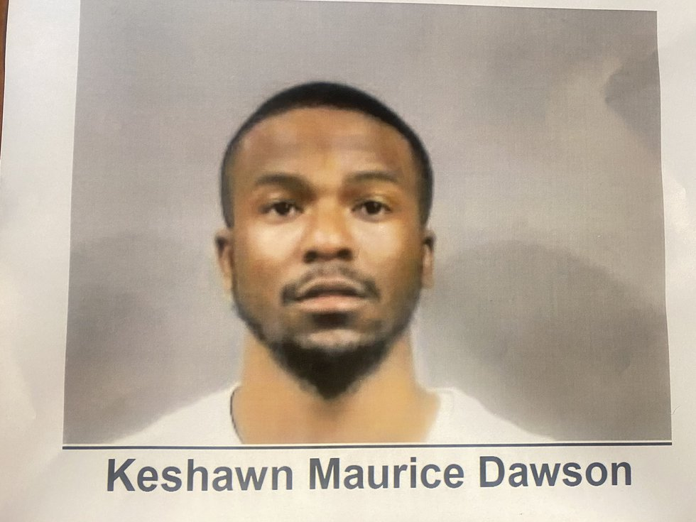 Wichita Police said they are looking for Keshawn Maurice Dawson as a suspect in the shooting at...