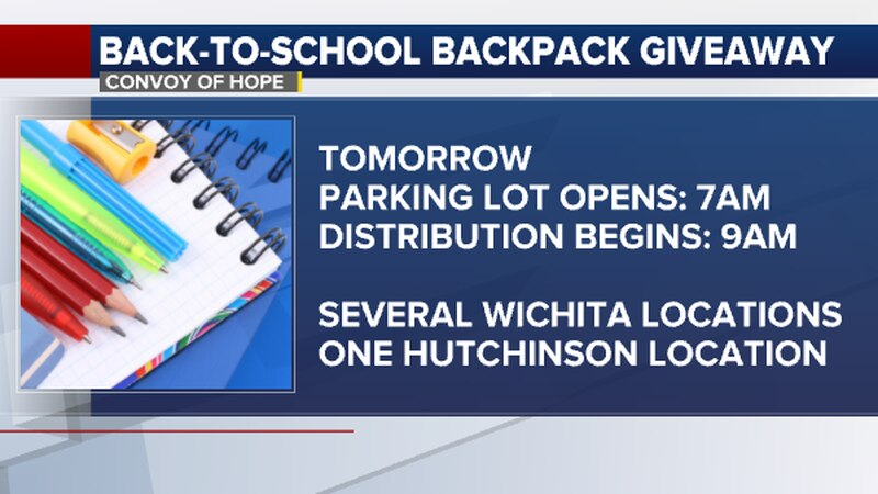 Convoy of Hope hosts its ninth annual back-to-school event this weekend.