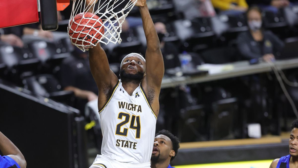 Shocker junior Morris Udeze was named the AAC Player of the Week Monday