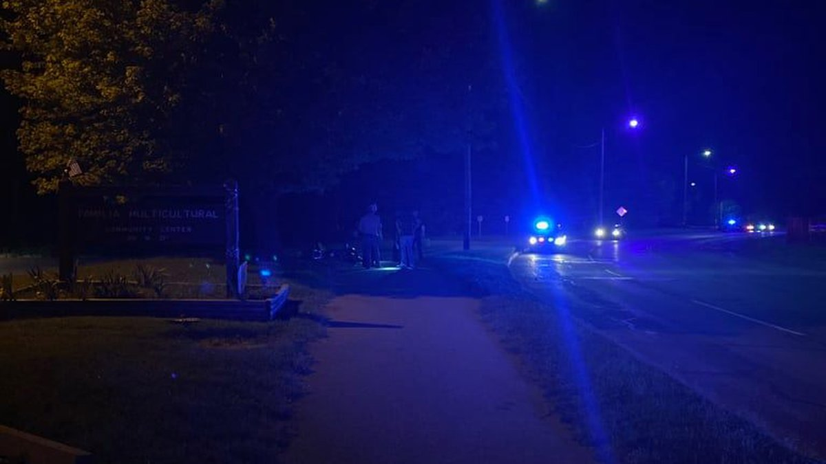 One person suffered critical injuries Friday night (9/17/21) in a crash near 21st and Woodland.