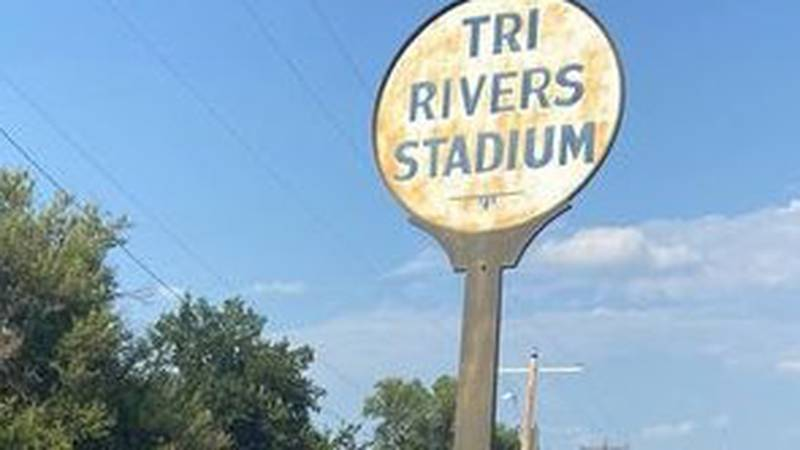 Tri Rivers Stadium to be knocked down.
