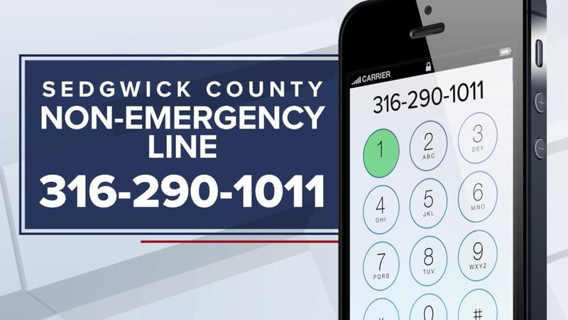 Sedgwick County non-emergency hotline