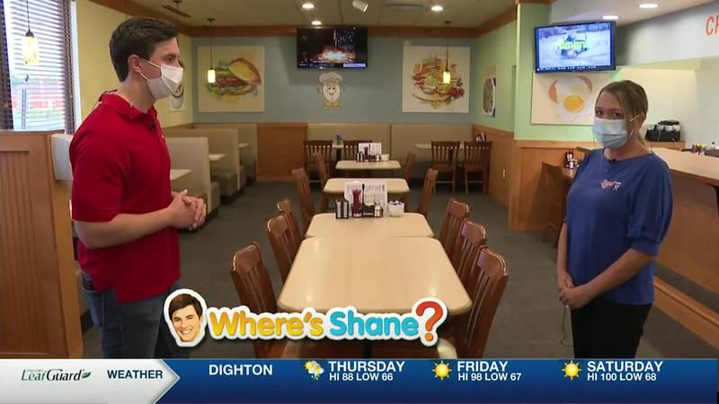Where's Shane? Jimmy's Egg