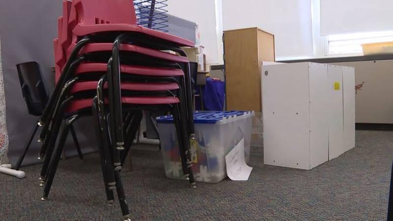 Winfield school district creates in-school daycare to help keep teachers in classroom