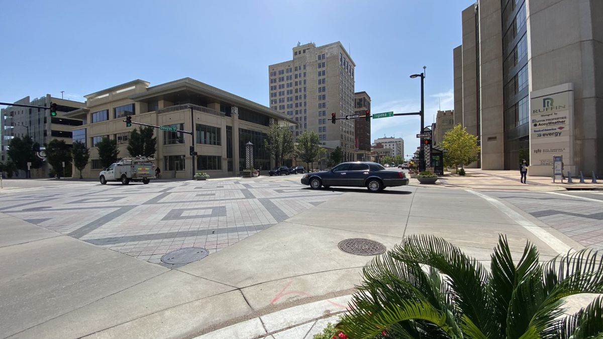 City of Wichita planning improvements to speed up travel times on Douglas downtown