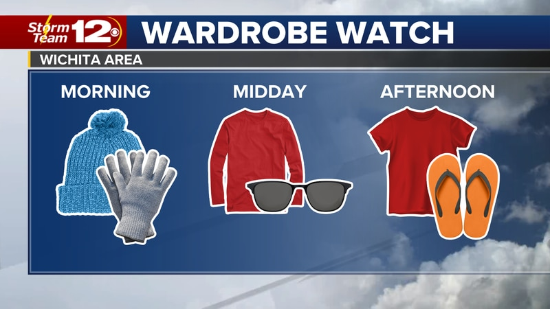 Meteorologist Jake Dunne says near normal temperatures on our Wednesday morning will soar to...
