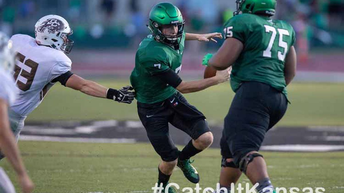 Garden City High School's football team played on the road vs Derby High School on Friday...