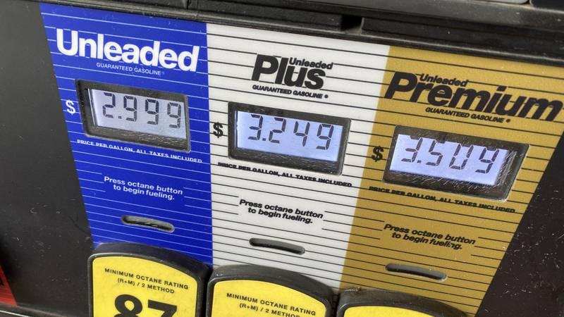 Gas prices jumped fifteen cents at some gas stations across Kansas overnight.