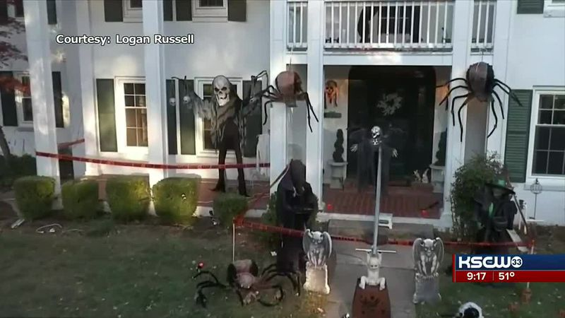 Local family gets creative to make trick-or-treating safer