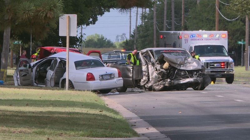 An 80-year-old man has died following an accident Saturday afternoon in West Wichita.