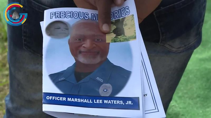 Louisiana Officer Marshall Waters honored during National Police Week