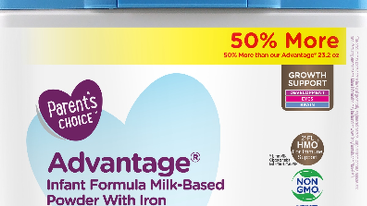 Baby formula sold at Walmart recalled nationwide for potentially containing metal (Source: Perrigo)