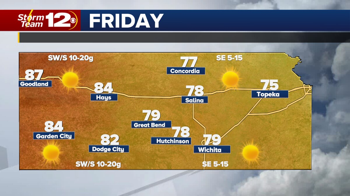 More mild weather in store for Friday