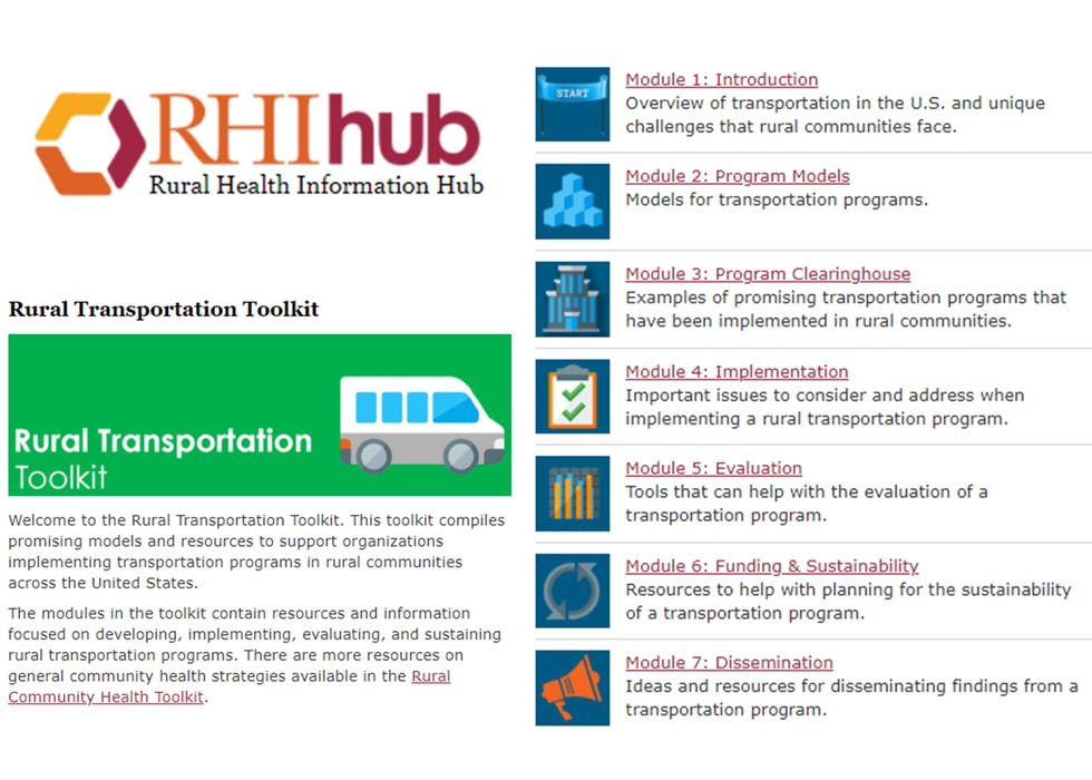 The toolkit is designed to be used by rural practitioners interested in identifying resources...
