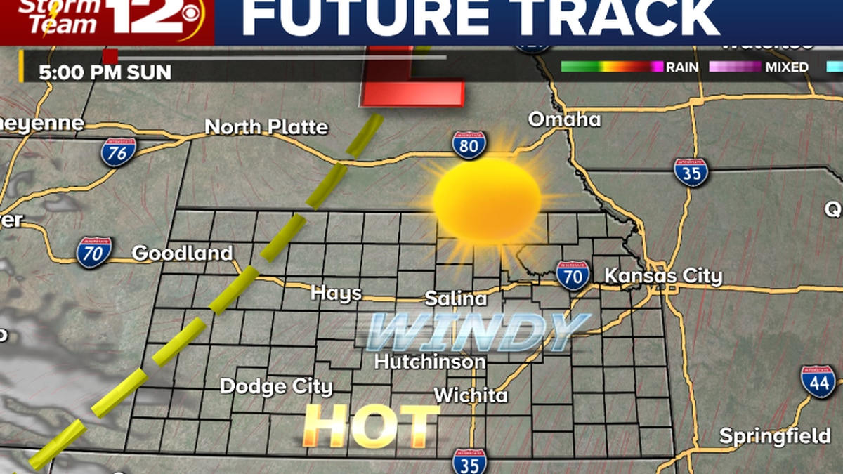 Heat and wind- produce high fire danger todsay