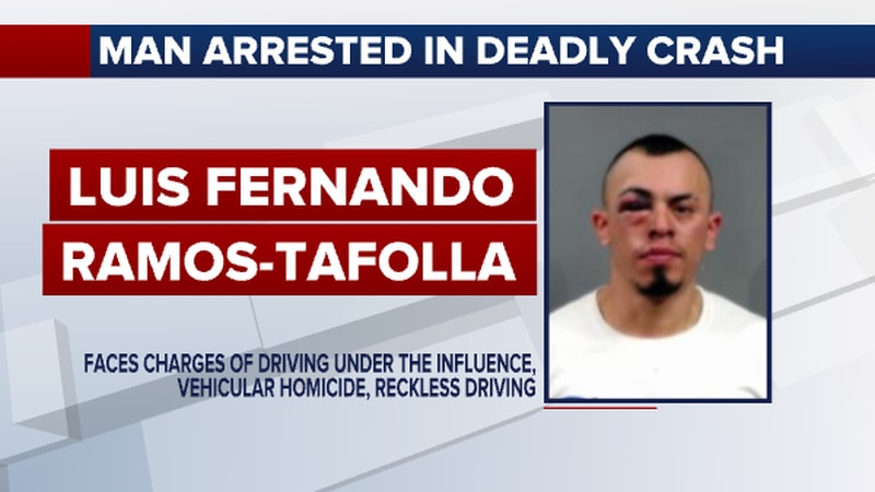 According to Sedgwick County Jail records, Luis Ramos-Tafolla was arrested after the incident...