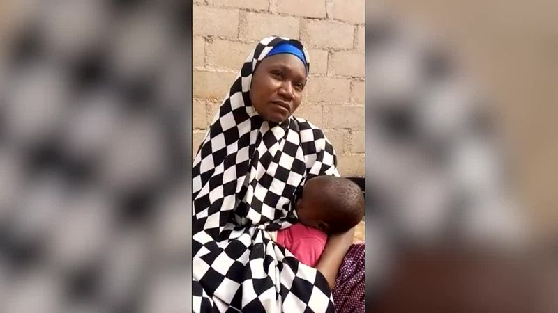 The mother of a girl kidnapped by gunmen in Nigeria says her daughter will not return to school...