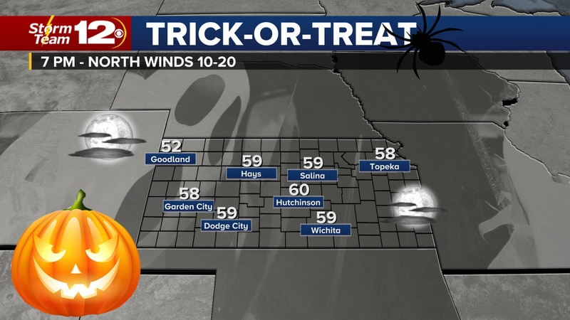 Perfect weather for Halloween.