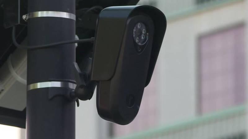 License plate reading camera in Wichita, Kansas