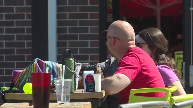 Wichita's Chicken N' Pickle is among local businesses at its busiest when warm weather brings...