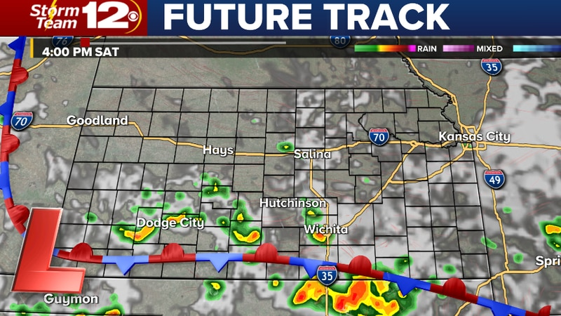 More storms later today