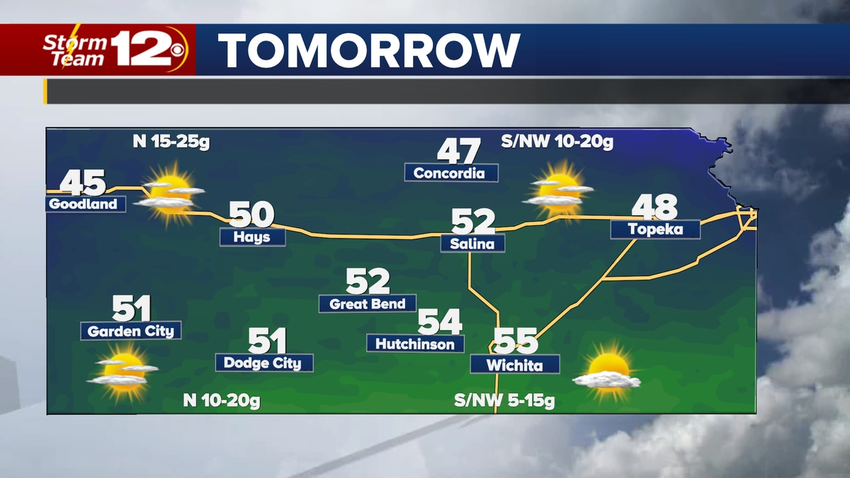 We'll have another chilly morning, but we'll get warmer on Monday afternoon.