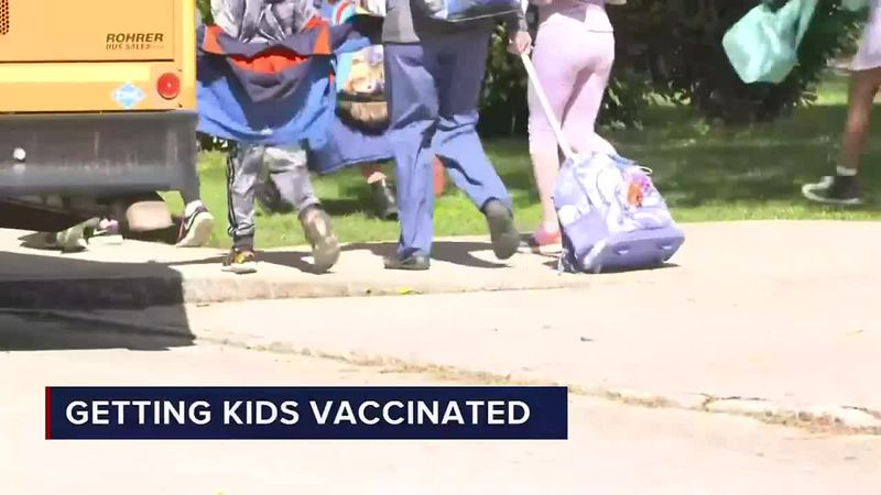 COVID-19 vaccinations could soon be available for kids ages 12 to 15