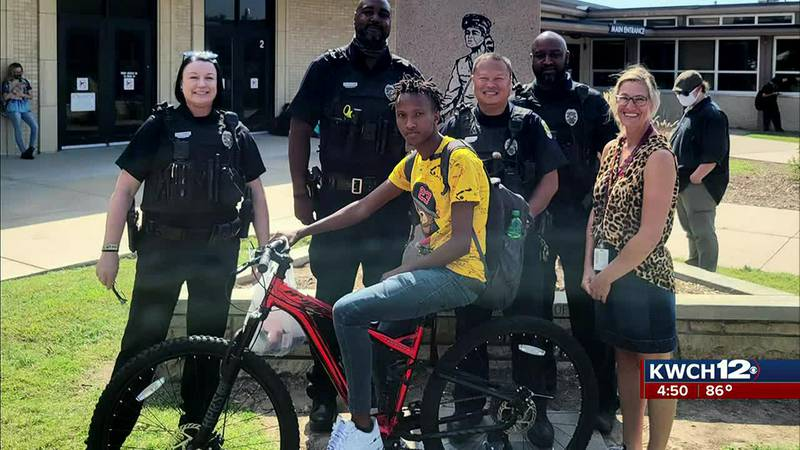 New bike for West High student