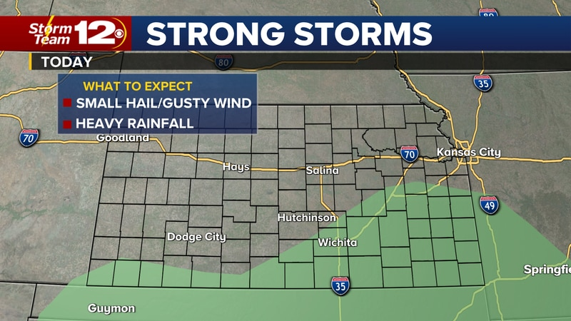 Meteorologist Jake Dunne says showers and storms from last night have weakened and left the...