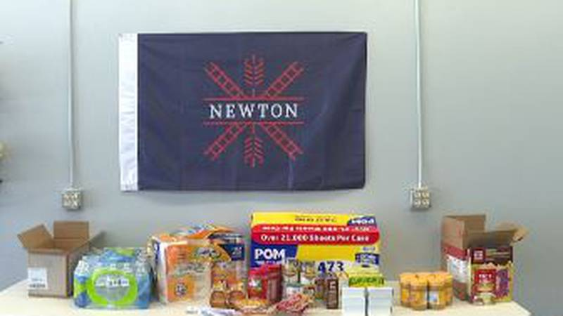 Two Newton men, Pastor Clinton McBroom, and Andy Ortiz said they want to help the children out,...
