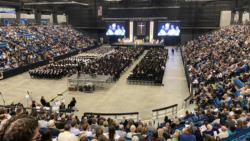 Thousands gathered Wednesday, September 29, 2021, at Hartman Arena in Park City for the Funeral...