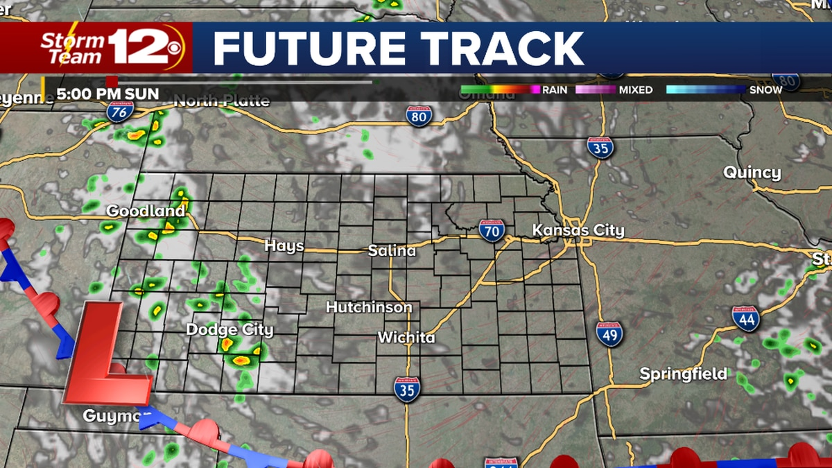 Pop-up storms this afternoon