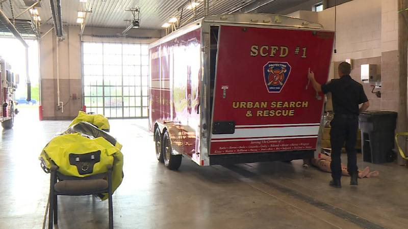 Station 32 of the Sedgwick County Fire Department