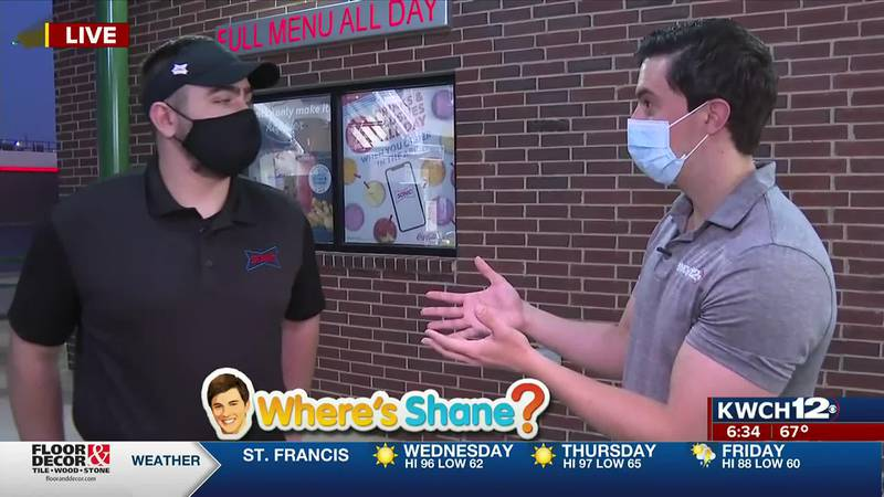 Where's Shane? Dr. Pepper Sonic Games